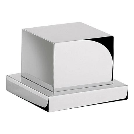Crosswater - Water Square Deck Mounted 4 Way Diverter Valve - WS0008DC