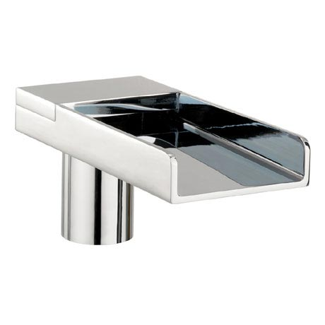 Crosswater - Water Square Deck Mounted Bath Spout - WS0370DC