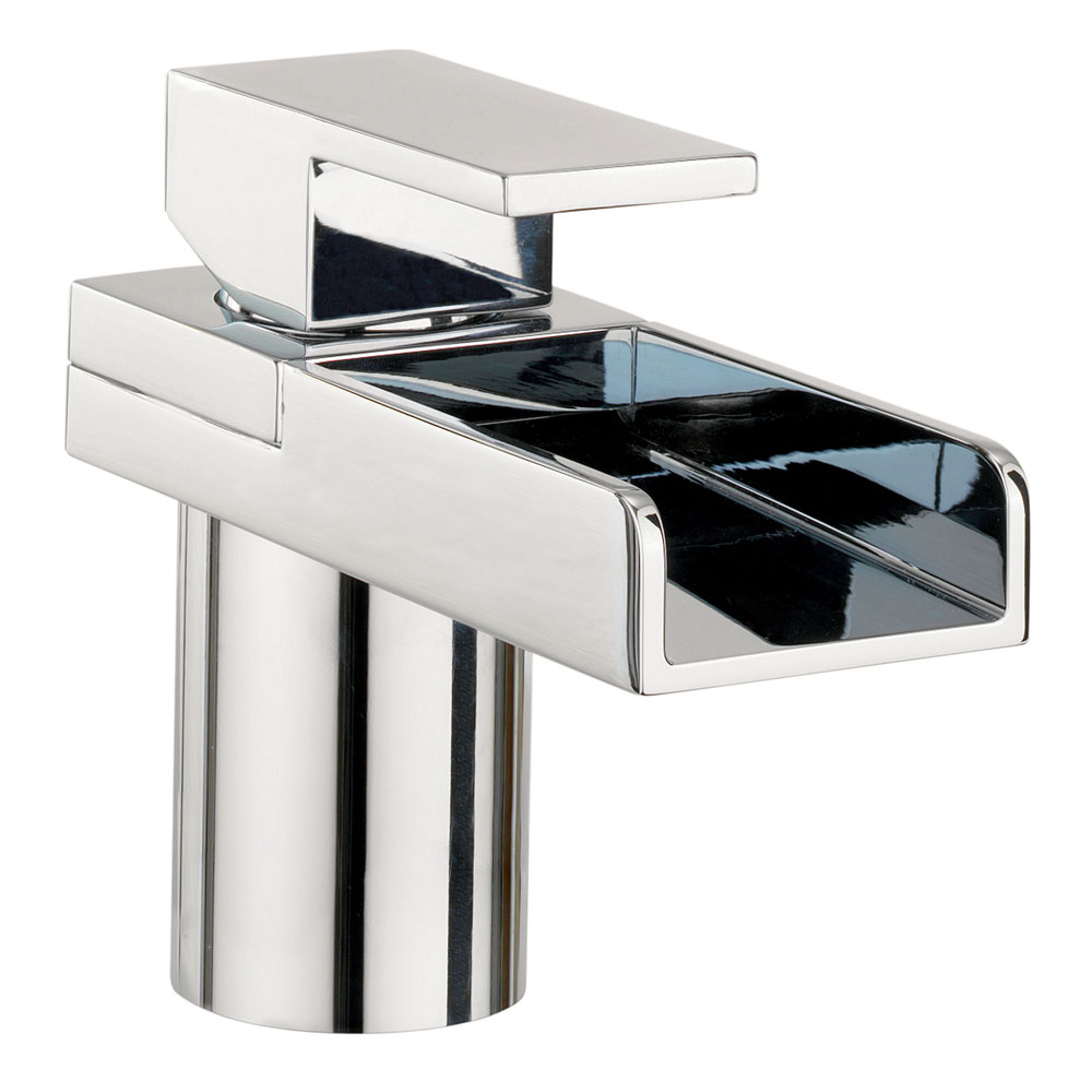 Crosswater - Water Square Monobloc Basin Mixer Tap - WS110DNC profile large image view 1