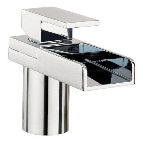 Crosswater - Water Square Monobloc Basin Mixer Tap - WS110DNC