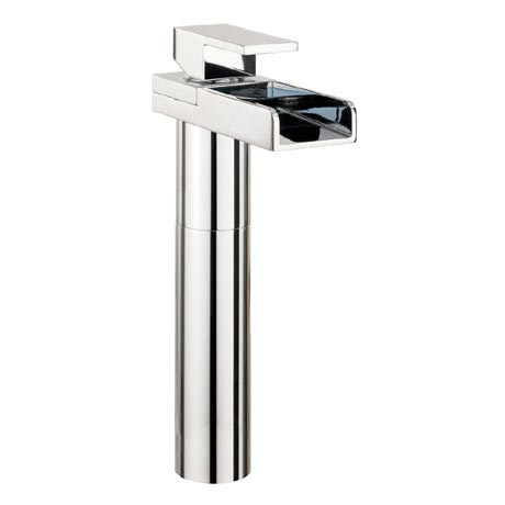 Crosswater - Water Square Tall Monobloc Basin Mixer Tap - WS112DNC