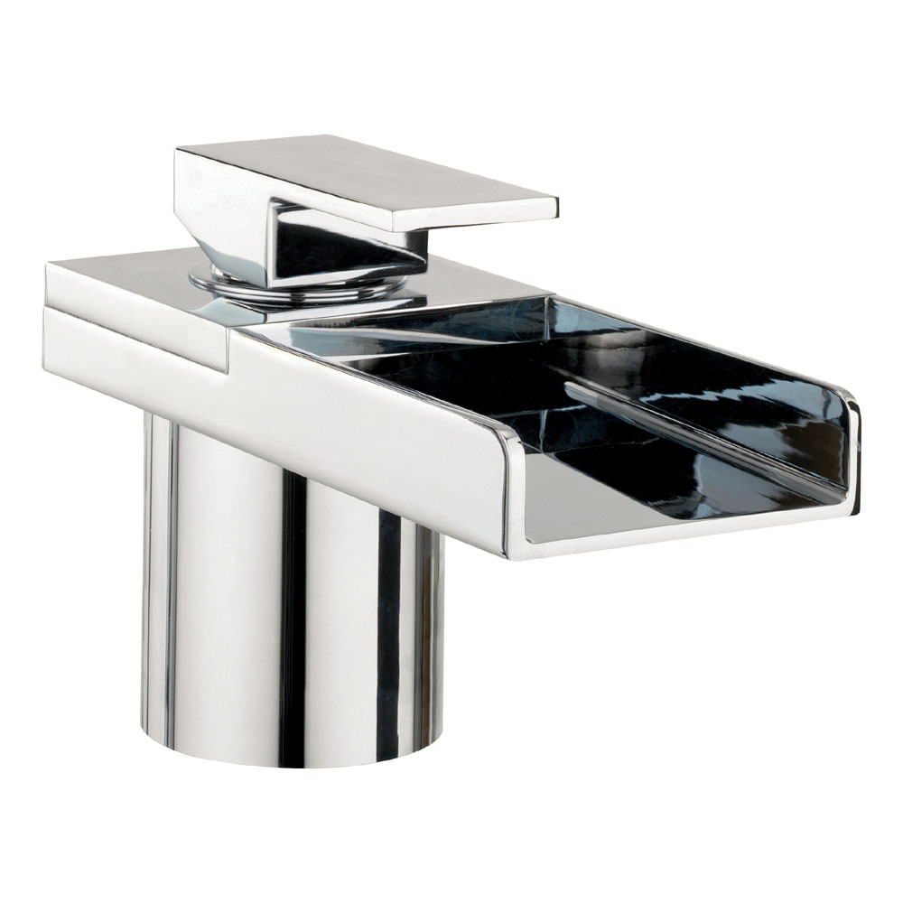 Crosswater - Water Square Monobloc Bath Filler - WS310DC profile large image view 1