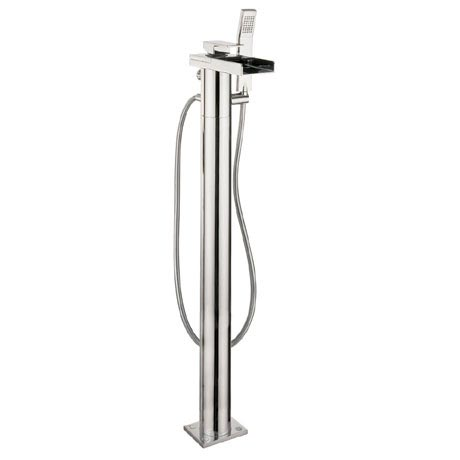 Crosswater - Water Square Floor Mounted Freestanding Bath Shower Mixer - WS415FC