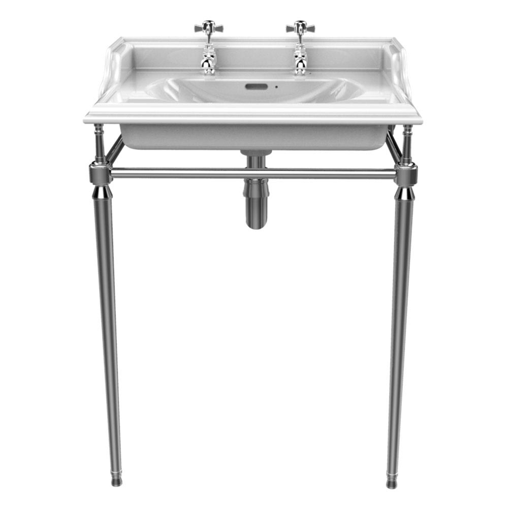 Heritage Abingdon Dorchester Basin & Washstand profile large image view 1