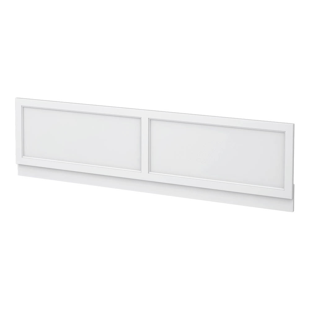 Chatsworth White 1500 Traditional Front Bath Panel
