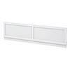 Chatsworth White 1500 Traditional Front Bath Panel Small Image