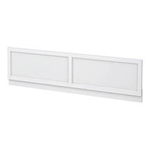 Chatsworth White 1700 Traditional Front Bath Panel Medium Image