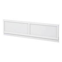 Chatsworth White 1800 Traditional Front Bath Panel Medium Image