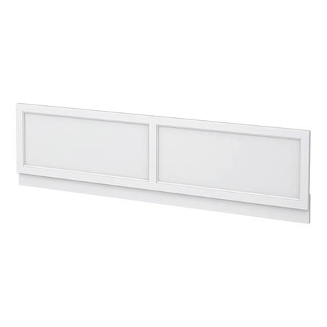 Chatsworth White 1800 Traditional Front Bath Panel