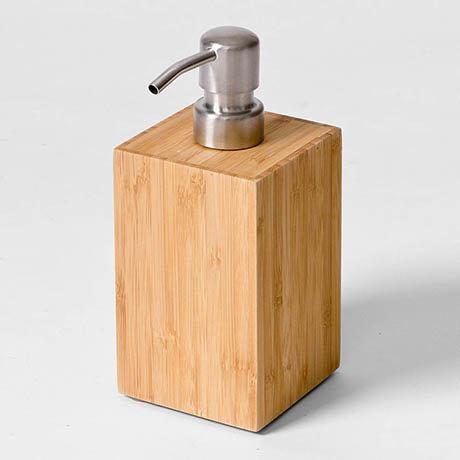 Wooden Soap Dispenser Bamboo