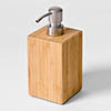 Wooden Soap Dispenser Bamboo profile small image view 1