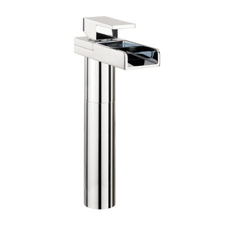 Crosswater - Water Square Lights Tall Monobloc Basin Mixer w/ Lights - WSX112DNC