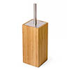 Wooden Toilet Brush & Holder Bamboo profile small image view 1