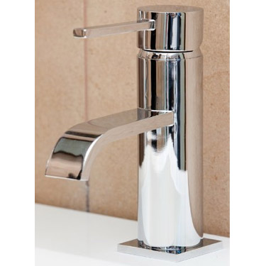 Ultra Series W Mini Mono Basin Mixer Tap Inc. Waste - WTY315 Profile Large Image