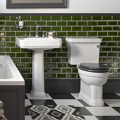 Heritage Wynwood Traditional 4-Piece Bathroom Suite
