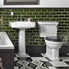 Heritage Wynwood Traditional 4-Piece Bathroom Suite profile small image view 1