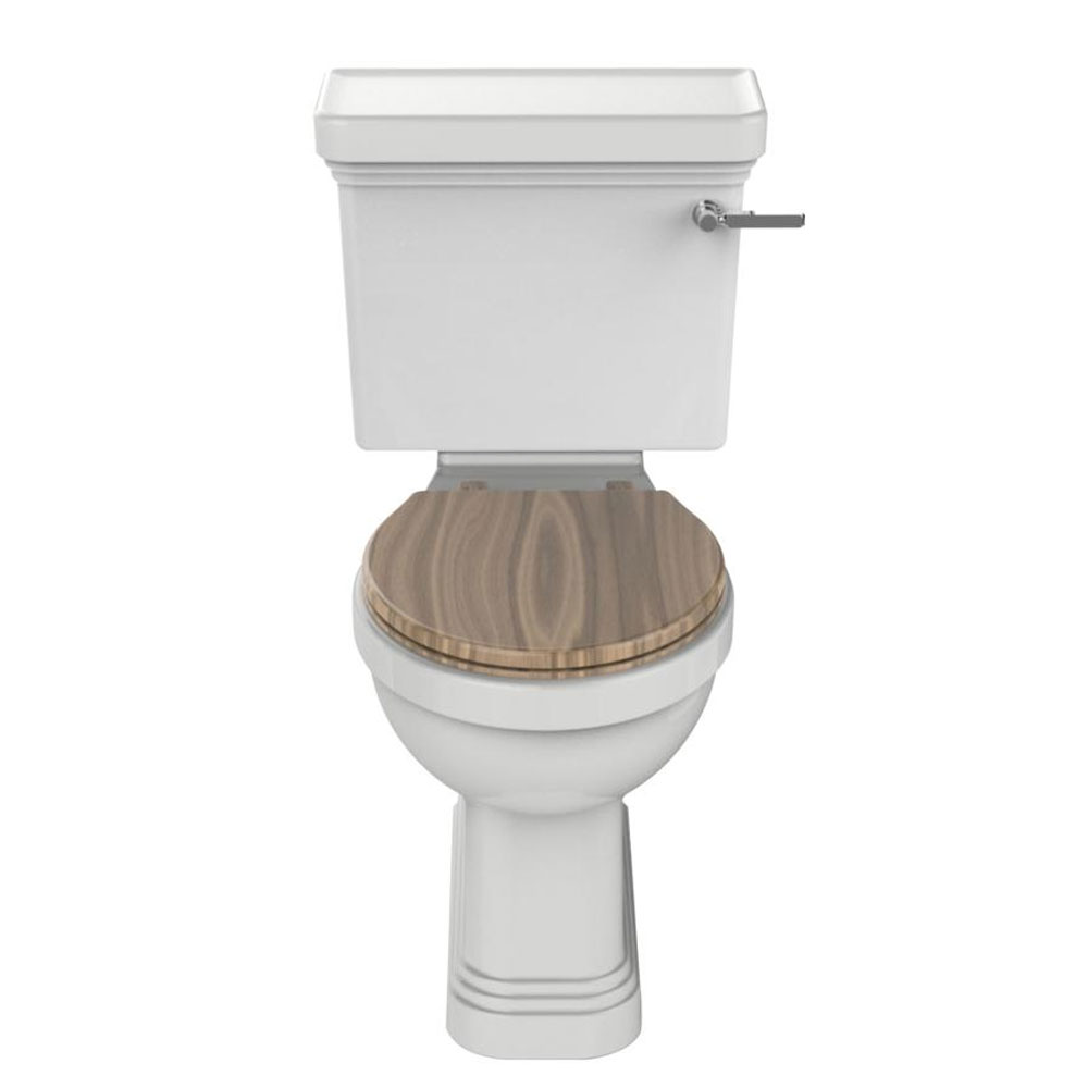 Heritage Wynwood Close Coupled Comfort Height WC & Cistern - Various Lever Options Large Image