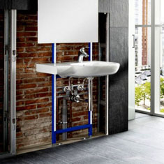Wall Hung Basin Frames