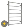 Warmup Electric Curved Heated Towel Rail - 600 x 800mm profile small image view 1