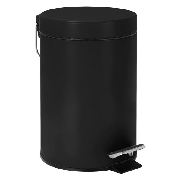 Wenko - 3 Litre Cosmetic Pedal Bin - Various Colours Large Image