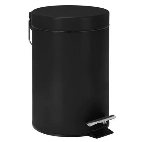 Wenko - 3 Litre Cosmetic Pedal Bin - Various Colours