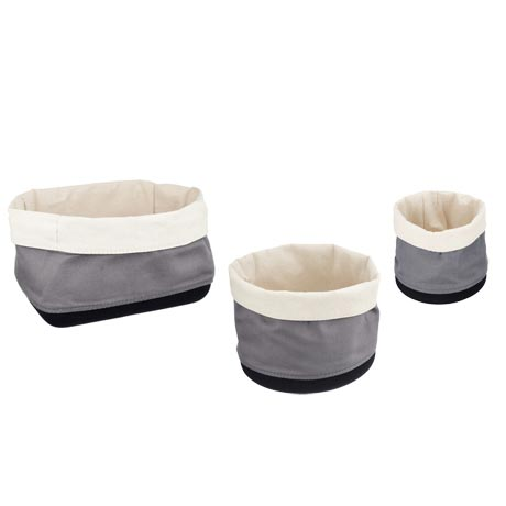 Wenko 3-Piece Soraya Bathroom Storage Basket Set