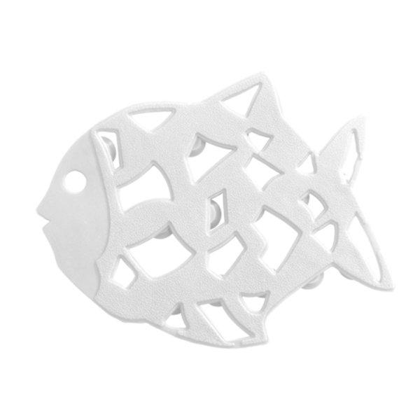 Wenko Anti-slip Fish Sticker - 6 Pieces - White - 3911015100 Large Image