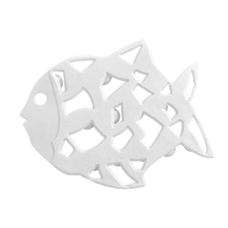 Wenko Anti-slip Fish Sticker - 6 Pieces - White - 3911015100