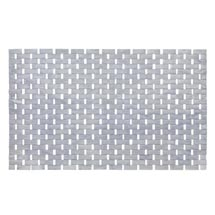Wenko Bamboo 50 x 80cm Bath Mat - Grey - 22107100 Medium Image
