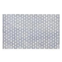 Wenko Bamboo 50 x 80cm Bath Mat - Grey - 22107100 Medium Image