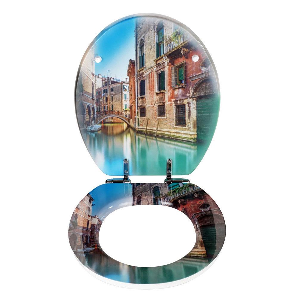 Wenko Bella Venezia Soft Close Toilet Seat Profile Large Image