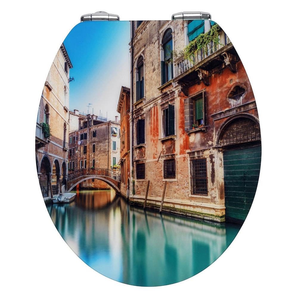 Wenko Bella Venezia Soft Close Toilet Seat Large Image