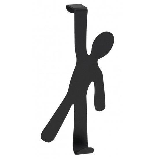 Wenko 'Boy' Stainless Steel Door Hook - 2 Colour Options Large Image