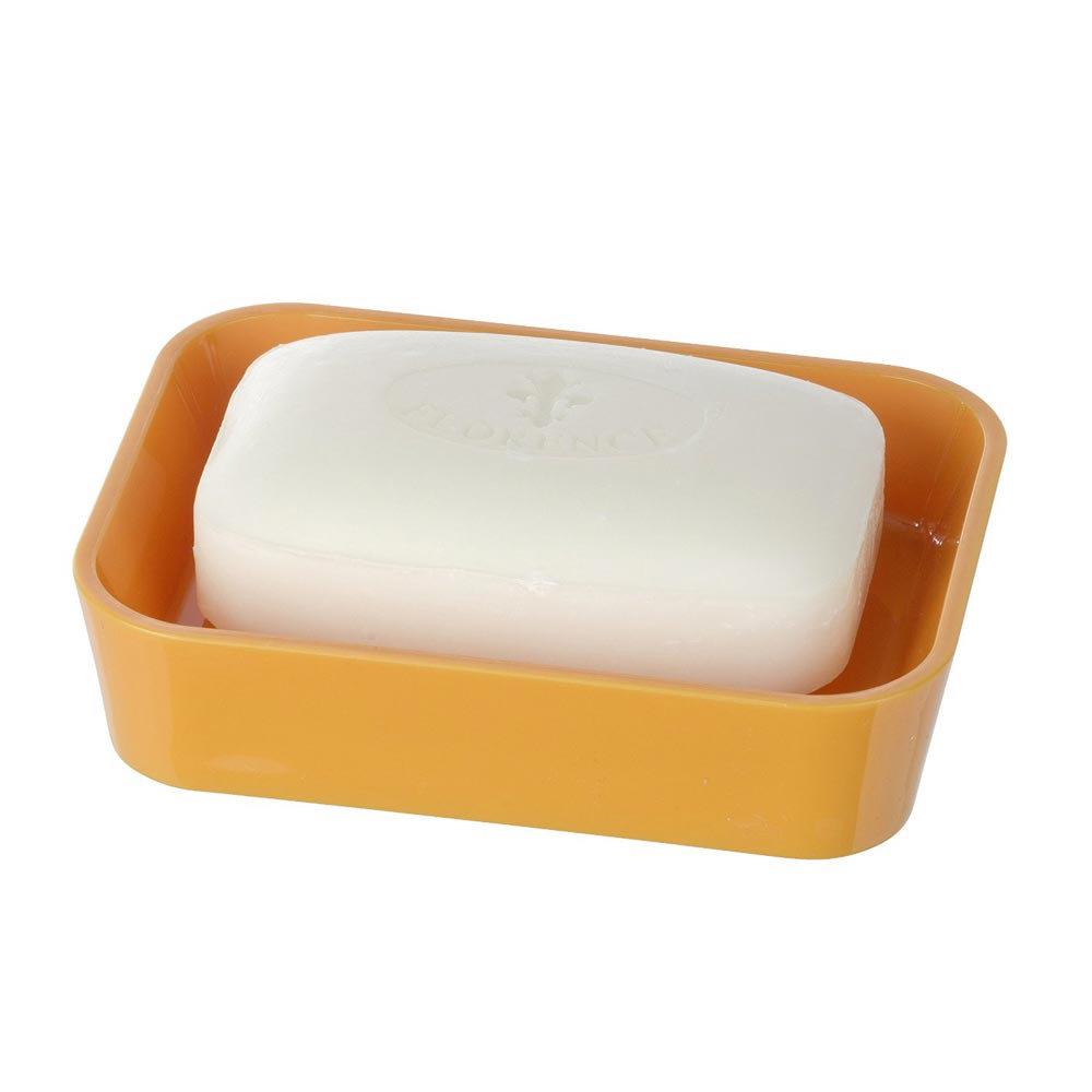 Wenko Candy Soap Dish - Orange - 20307100 Profile Large Image