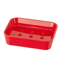 Wenko Candy Soap Dish - Red - 20289100 Medium Image