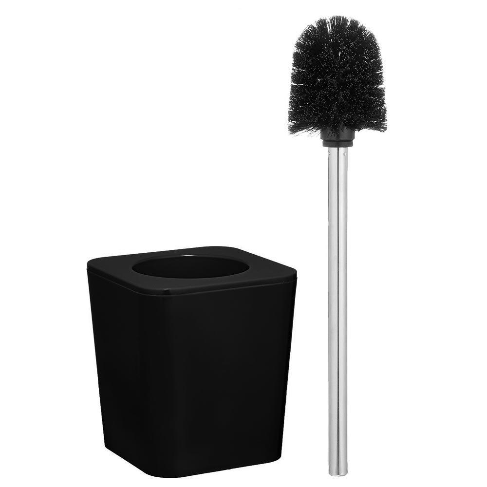 Wenko Candy Toilet Brush Set - Black - 20332100 Profile Large Image