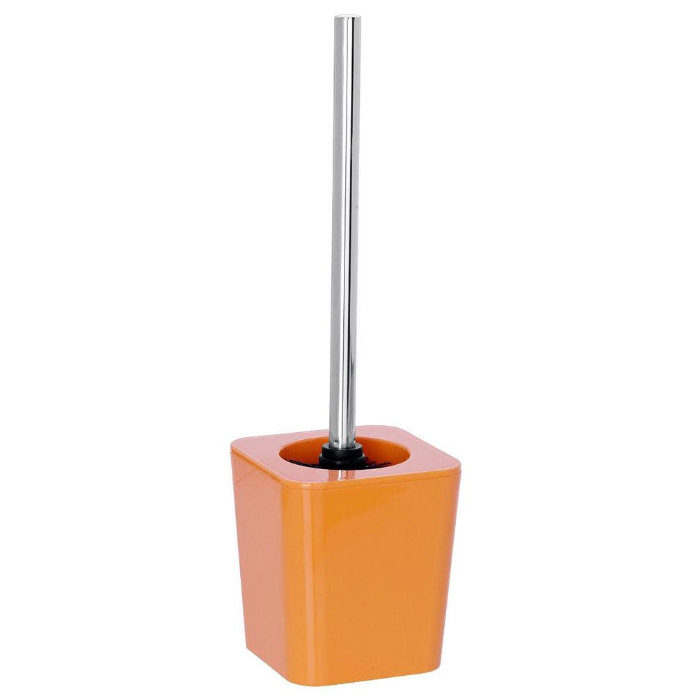 Wenko Candy Toilet Brush Set - Orange - 20308100 Large Image