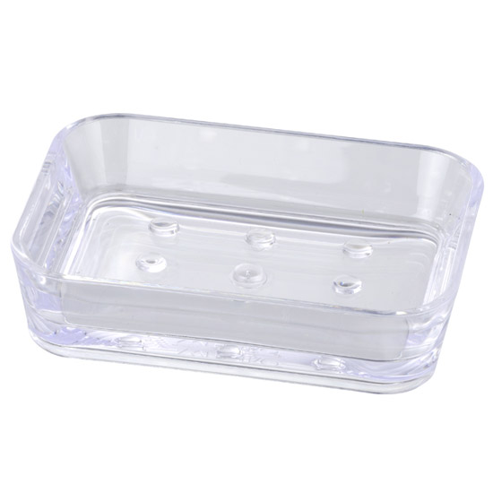 Wenko - Candy Transparent Soap Dish - 20301100 Profile Large Image