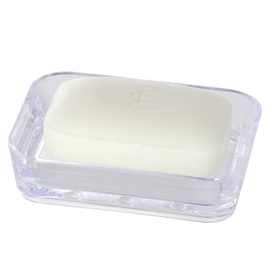 Wenko - Candy Transparent Soap Dish - 20301100 Large Image