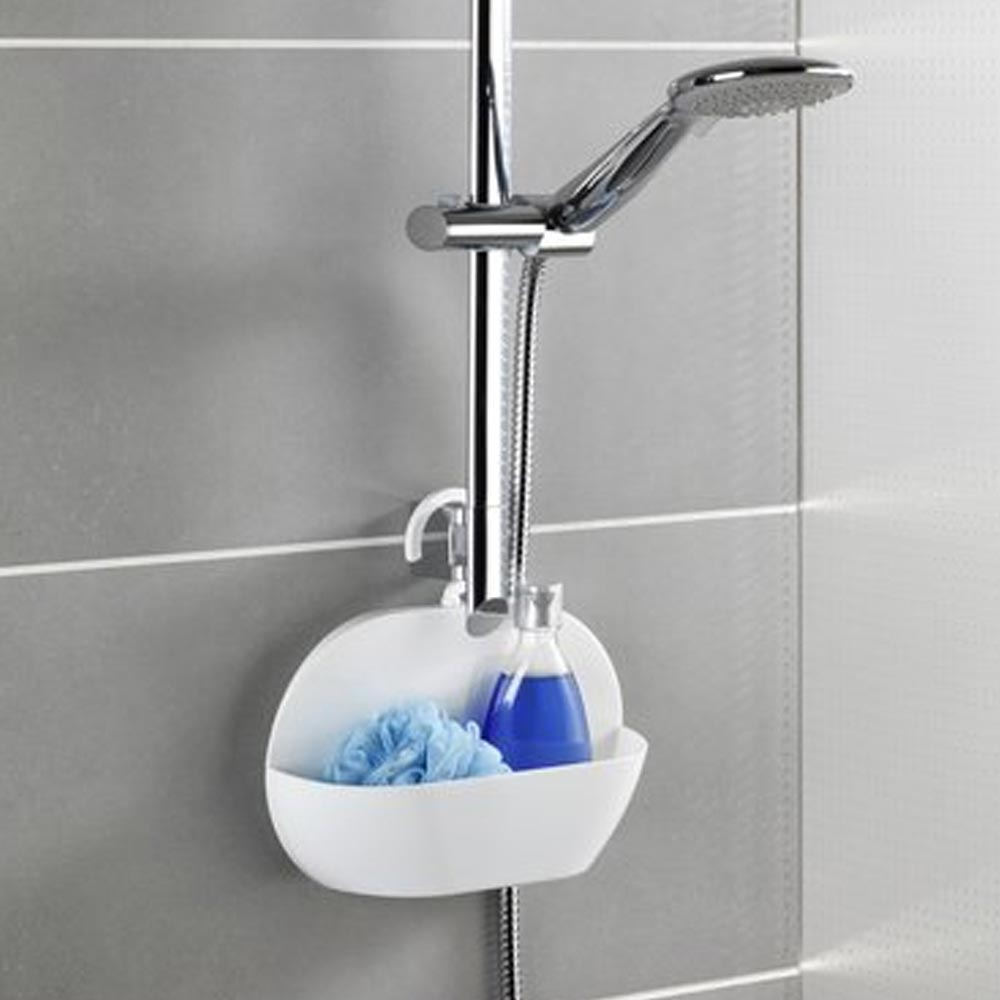 Wenko Cocktail Shower Caddy - Blue - 22136100 Profile Large Image