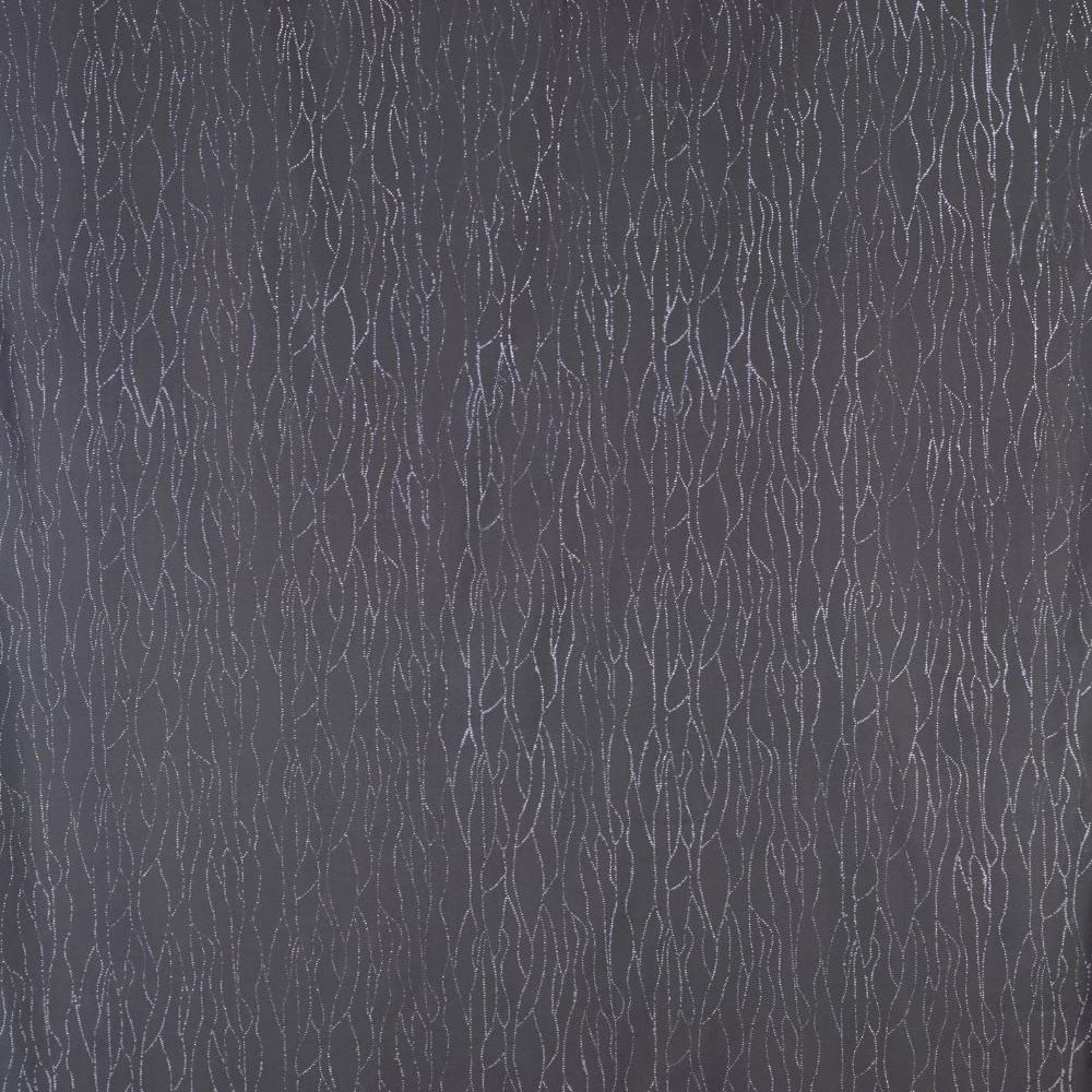 Wenko Deluxe Grey Polyester Shower Curtain - W 1800 x H2000mm profile large image view 2