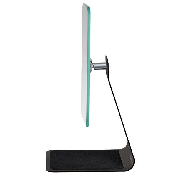 Wenko - Frisa Standing Cosmetic Mirror - Black - 20442100 profile large image view 2