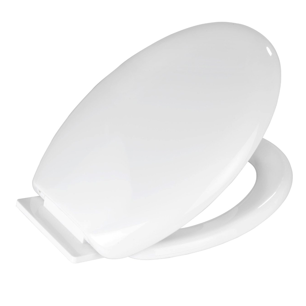Wenko Glow In The Dark Soft-Close Toilet Seat - 21900100 profile large image view 2