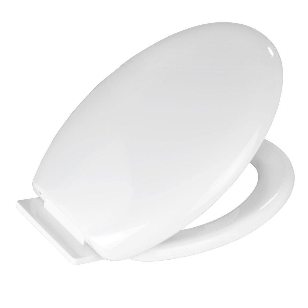 Wenko Glow In The Dark Soft-Close Toilet Seat - 21900100 Profile Large Image