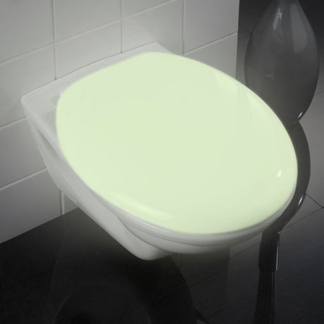 Wenko Glow In The Dark Soft-Close Toilet Seat - 21900100