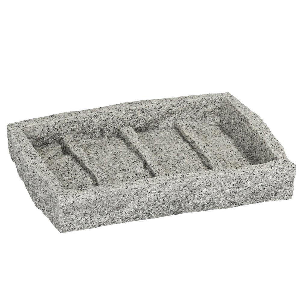 Wenko Granite Soap Dish - 20439100 profile large image view 1