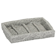 Wenko Granite Soap Dish - 20439100 Medium Image