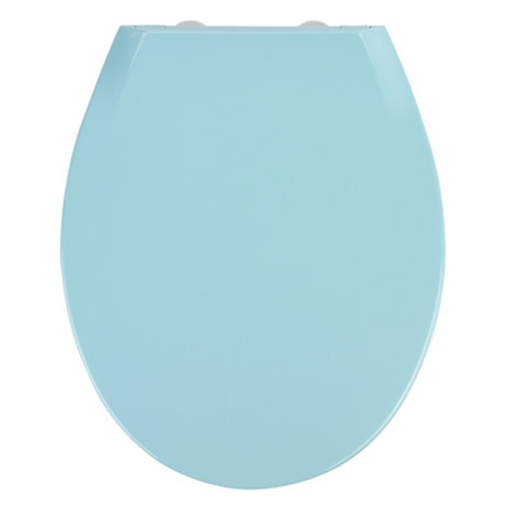 Wenko Kos Soft Close Toilet Seat - Blue