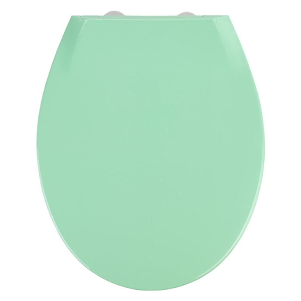 Wenko Kos Soft Close Toilet Seat - Green Large Image