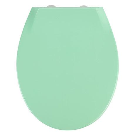 Wenko Kos Soft Close Toilet Seat - Green